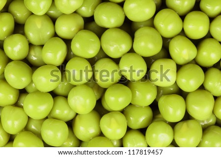 green peas, background