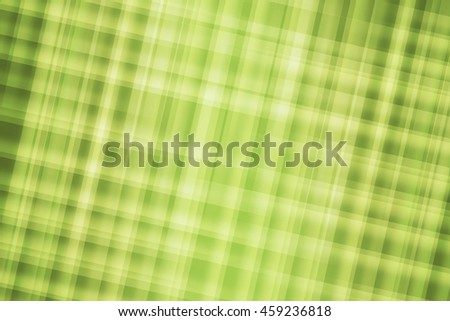 Green plaid colors blend to create abstract background - stock photo