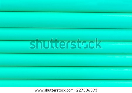 green plastic tubing or pattern texture background .