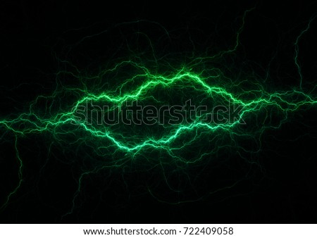 Green Lightning Bolts Stock Illustration 8221360 ... Lightning Logo Design