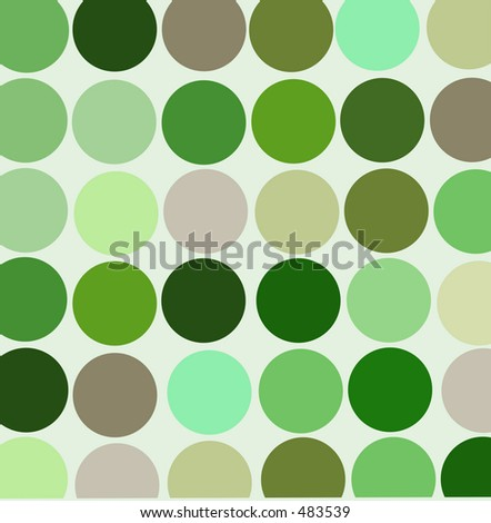 Green retro style designer background - stock photo