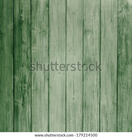 Green Rustic painted board Background, perfect for St. Patricks Day or Christmas with room or space for copy, text, words, designs.  Dull vintage retro look  - stock photo