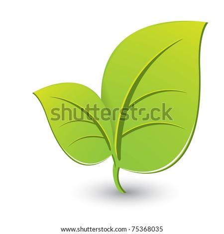 Green sheet - stock photo