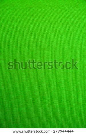 Green silk background - stock photo
