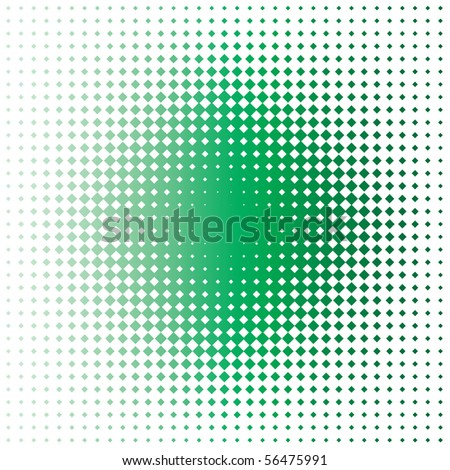 green stain - stock photo