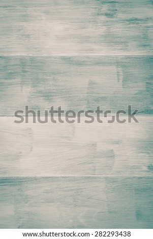 Green striped wood planks background - stock photo