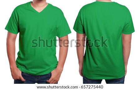 Green T-shirt Stock Images, Royalty-Free Images & Vectors ...