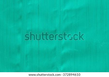 green tarpaulin texture background - stock photo