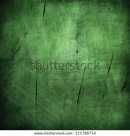 green texture grunge illustration - stock photo