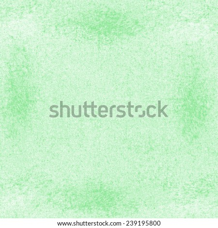 green textured background.