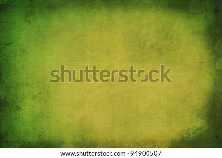Green textured wallpaper background - stock photo