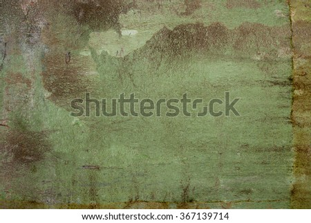 green tone wall background