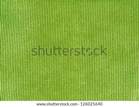 Green velvet texture background - stock photo