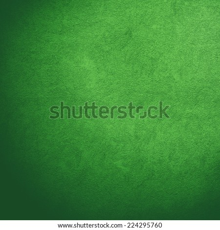 green wall background texture. - stock photo
