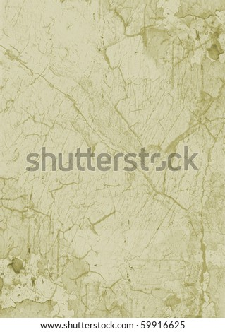 Green waste paper - stock photo