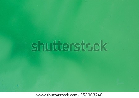 green watercolor painted background texture - stock photo