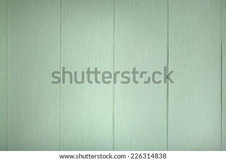 Green wood background. Vintage old backdrop. Pastels color. - stock photo