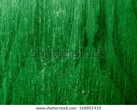 green wood texture - stock photo