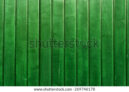 Green wooden background - texture pattern, for designers. - stock photo