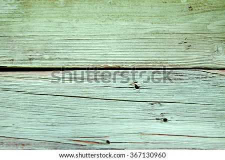 green wooden board