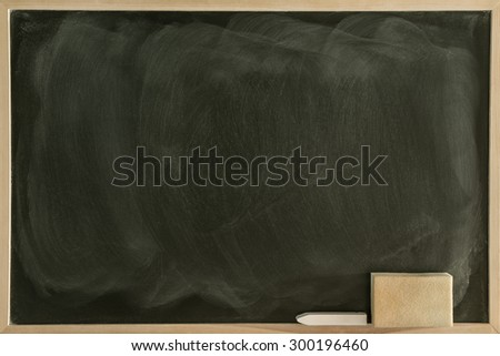 Greenboard Blackboard/ Chalkboard - stock photo