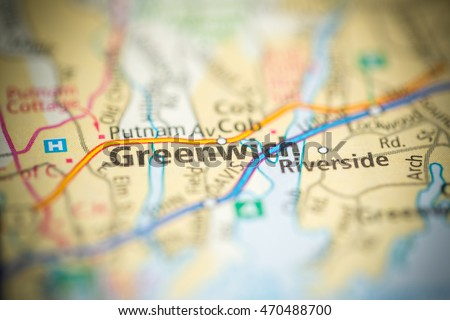 Greenwich Stock Images RoyaltyFree Images Vectors Shutterstock - Greenwich connecticut on a us map