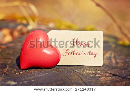 greeting card background for fathers day