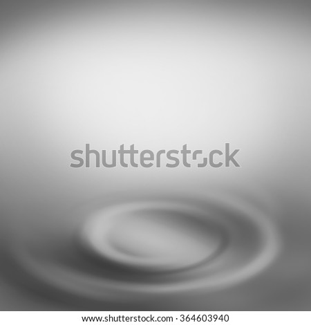 grey abstract background with white copy space and swirl decorative element as interior design template - stock photo