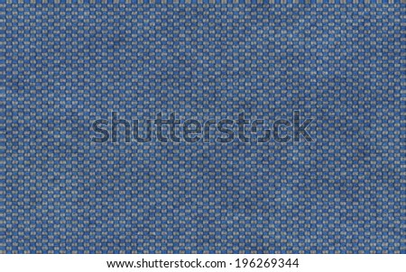 Grey and Blue knit fabric (seamless texture) - stock photo