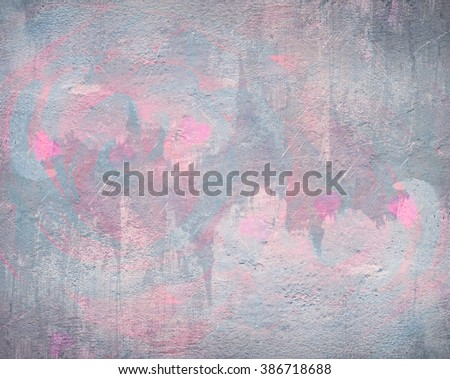 Grey and pink background abstract watercolor - stock photo