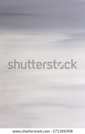 Grey and White Painted Canvas Background - stock photo