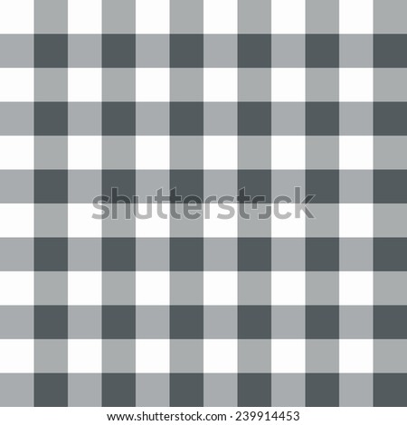 Grey and white seamless checkered pattern