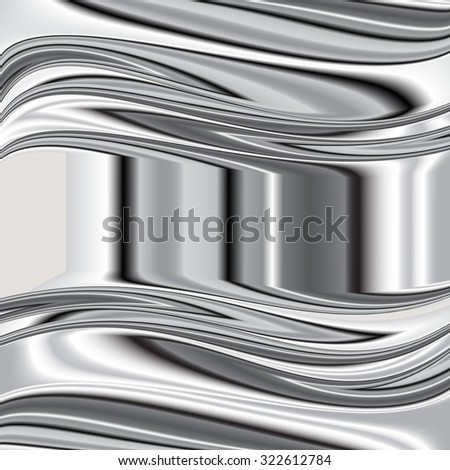 grey background Raster overlap dimension 3d graphic metal color  Raster 3 - stock photo