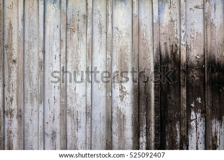 Grey Barn Wooden Wall Planking Texture. Old Solid Wood Slats Rustic Shabby Gray Background. Hardwood Dark Weathered Timber Surface. Grunge Faded Wood Board Panel Structure, Close Up