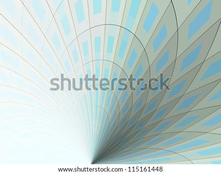 grey blue business background - stock photo