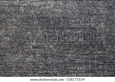 grey Brick wall texture background