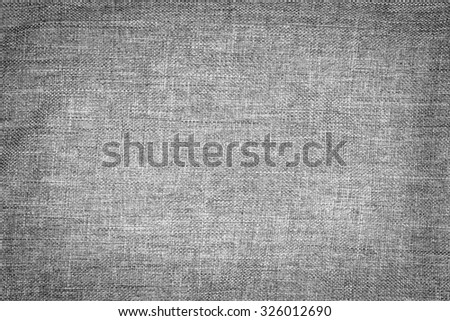 Grey cloth texture - stock photo