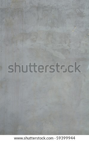 GREY CONCRETE WALL - stock photo