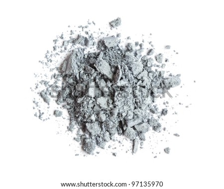 Grey eyeshadow - stock photo