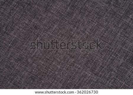 Grey fabric background - stock photo