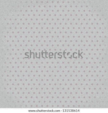 Grey fabric textile texture background with dot - stock photo