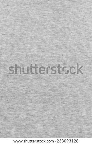 Grey fabric texture - stock photo