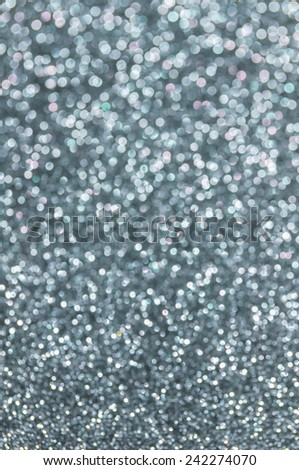 grey glitter christmas abstract background - stock photo