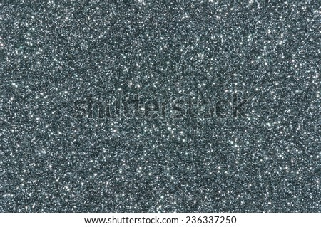 grey glitter texture christmas abstract background - stock photo
