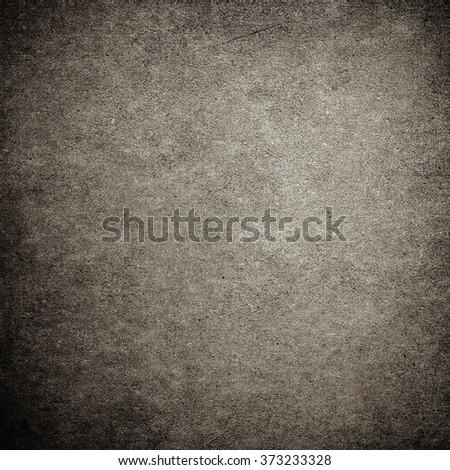 Grey grunge concrete wall background - stock photo
