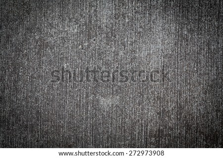 Grey grunge textured wall or floor background. Copy space - stock photo