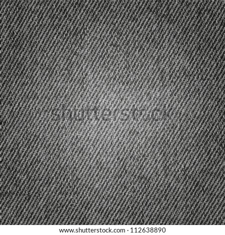 Grey jeans background - stock photo