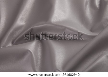 grey leather texture background  - stock photo