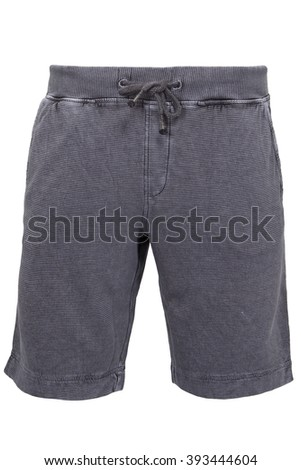 Grey male shorts