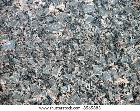 Grey marble for kitchen countertop - stock photo